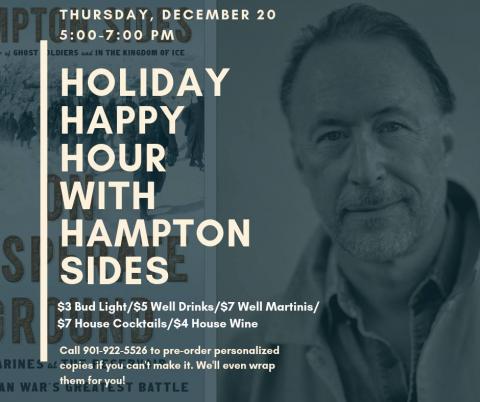 Holiday Happy Hour with Hampton!   novel